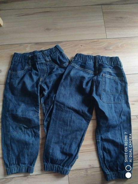 Spodnie H&M 2 szt. W rozmiarze 98