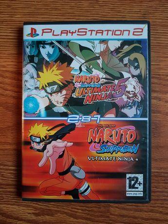 Игра для playstation 2, Наруто 2в1.
