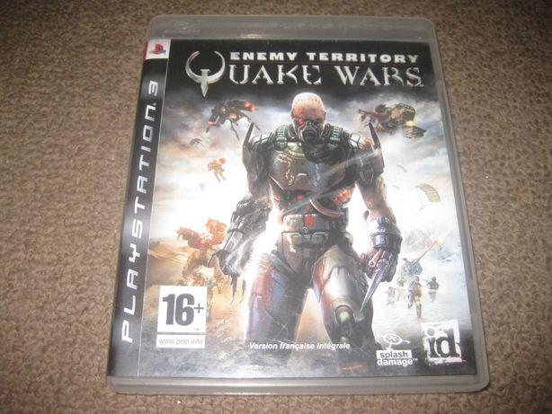 "Jogo ""Enemy Territory: Quake Wars"" PS3/Completo!"
