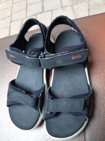 Sandałki ECCO rozm.34 czarne sandały