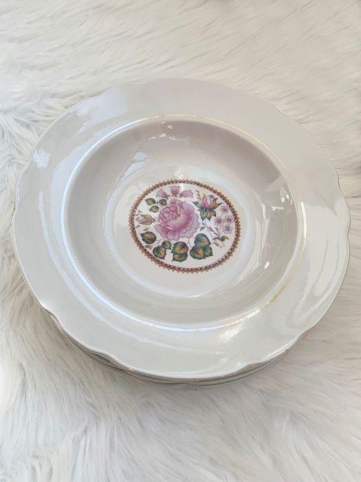 Набор тарелок, 24 см,тарелки, тарілки,тарілка,тарелка,глубокие,глибокі