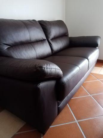 Vendo sofá em pele