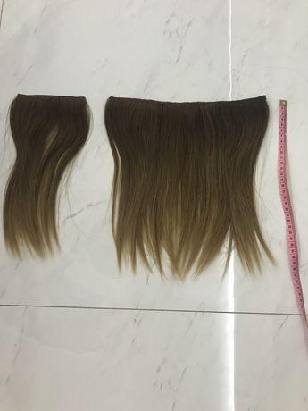 Волос шиньон натуральные волосы