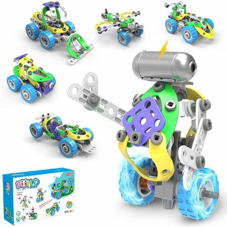 Конструктор Build&Play 5 в 1 С мотором 109 эл