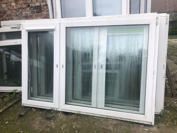 Okna uzywane 206 x 140
