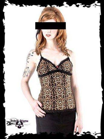 Top leopard m e L