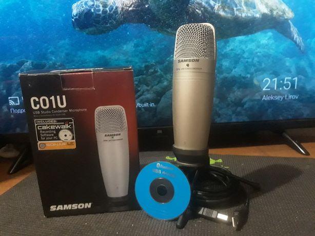Микрофон студийный Samson C01U