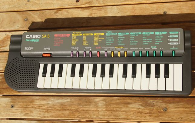 keyboard Casio SA - 5 dla dzieci