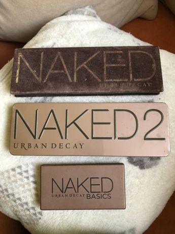 Naked, Naked Basic, Naked3, Kat von D