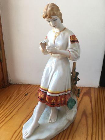 Керамическая статуэтка полонский завод