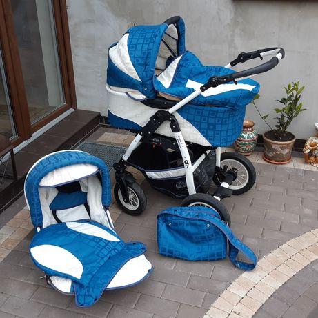 Wózek dziecięcy BABY-MERC Q7 BDB stan + akcesoria