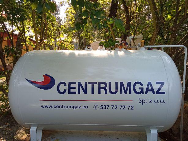 Zbiornik na gaz propan, 2700, 4850, 6400, montaż, na płynny gaz, lpg