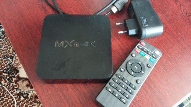 Продам приставку Smart TV MXQ 4K (1/8 Gb)