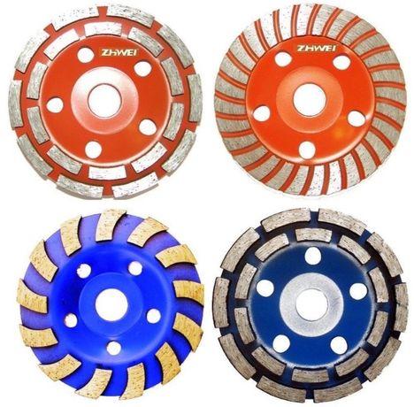 Алмазная чашка круг шлифовальная для шлифовки и зачистки ТУРБО СЕГМЕНТ