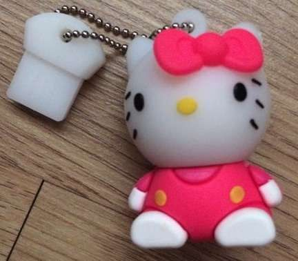 Pen Drive Hello Kitty 16GB Novo