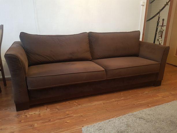 Sofa trzyosobowa rozkładana stan bardzo dobry