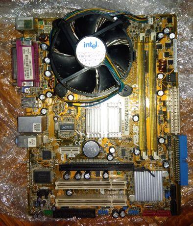 Motherboard+Processador+Memórias+Gráfica