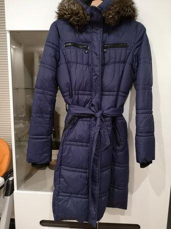 Długi płaszcz kurtka zimowa 38 Reserved