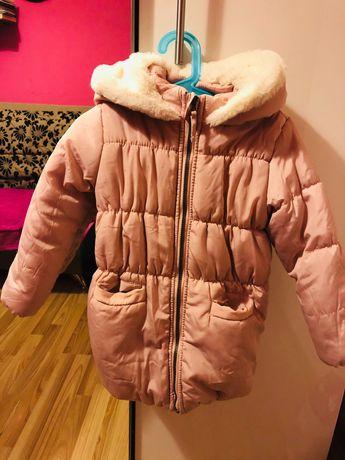 Zimowa puchowa kurtka 116
