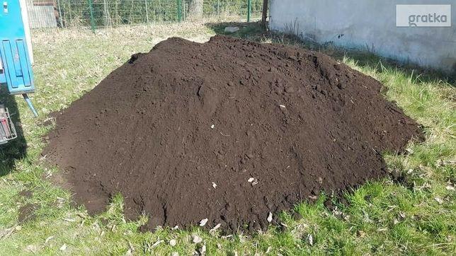 Ziemia ogrodowa czarna humus ,transpory  , zwir ,piasek, kamien itp