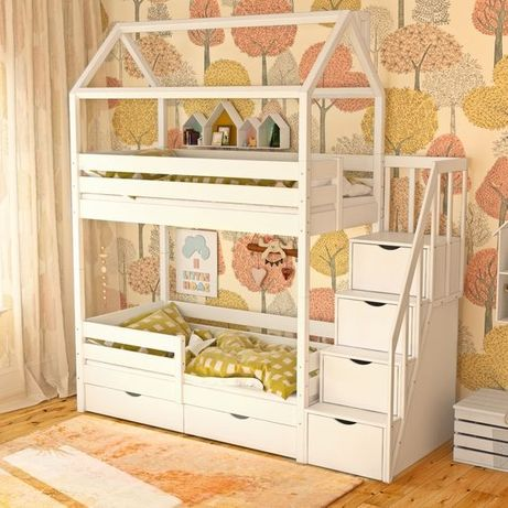 кровать двухъярусная Элис 2, двоповерхове ліжко