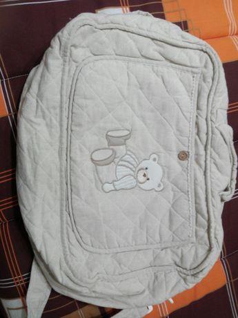Conjunto Saco muda fraldas bebe