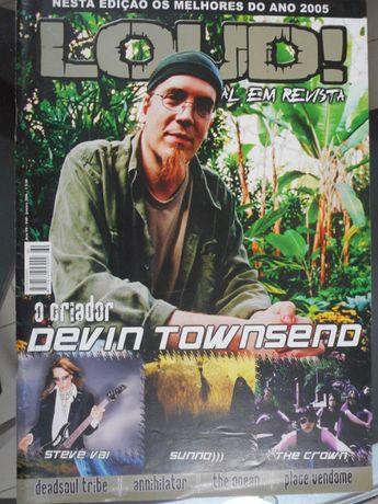 Revista LOUD! Devin Townsend
