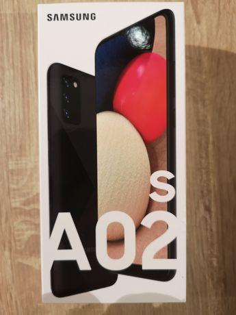 Samsung Galaxy A02S w kolorze czarnym (nowy - 2 lata gwarancji)