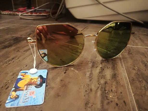 Okulary przeciwsłoneczne lustrzanki NOWE z metka