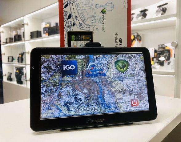 GPS Навигатор HD 7' Европа+СНГ для грузовых (Гарантия!)