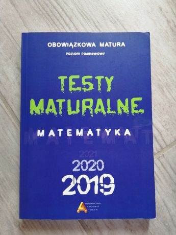 Sprzedam Testy Maturalne Matematyka