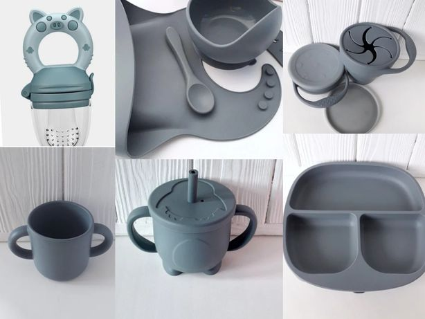 Мега набори 17 кольорів, силиконовая посуда
