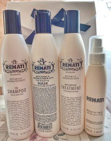 Набор по уходу за волосами Renati, шампунь, маска, кондиционер, лосьен