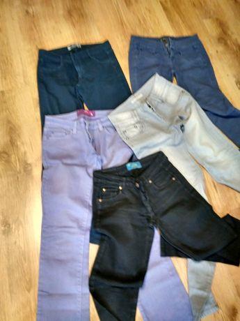spodnie dżinsy młodzieżowe damskie roz. S