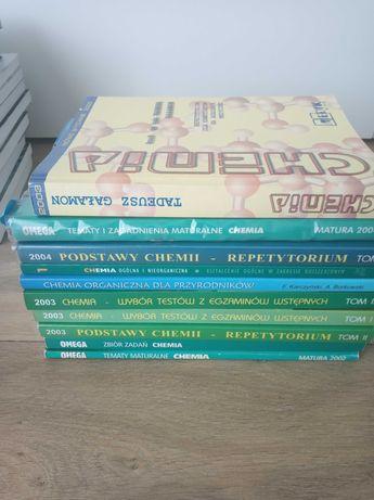 Książki - przygotowanie do matury CHEMIA