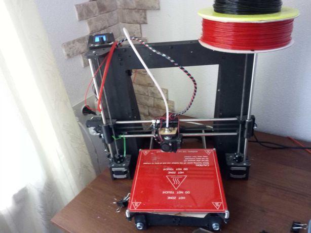 3D принтер+1 бидон с пластиком /Три д принтер/3д принтер
