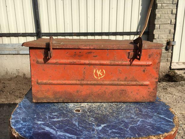 Продам Железный Ящик коробка железная инструментальный ящик СССР