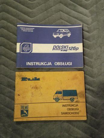 Instrukcja Obsługi samochodu Żuk/Fiat 126p