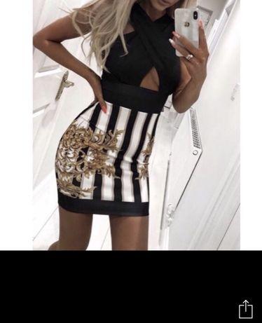 Sukienka styl Versace