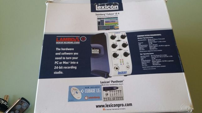 Lexicon Interface Audio