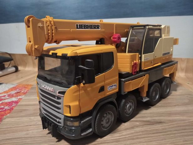 Scania Bruder кран
