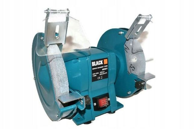 Точильный станок точило BLACK 46502 круг 200 мм Гарантия 12 месяцев