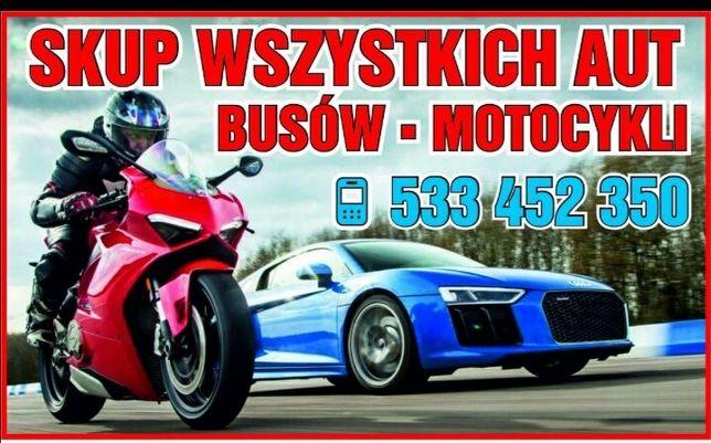 Skup aut motocykli busów auto skup PiotrkówSzczercówZgierzPabianiceŁas
