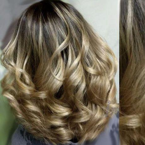 Омбре, Балаяж, Шатуш. Блонд окрашивание/покраска волос. Мелирование