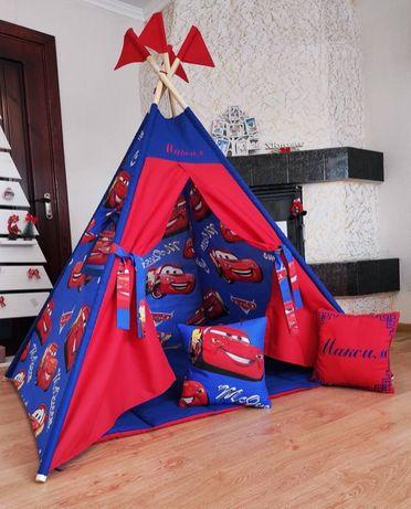 Палатка вигвам, детский игровой домик.ООплата при получении! Новая