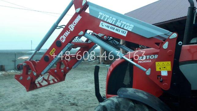 Ładowacz czołowy TYTAN Metal-technik MT02 TUR 1600 kg