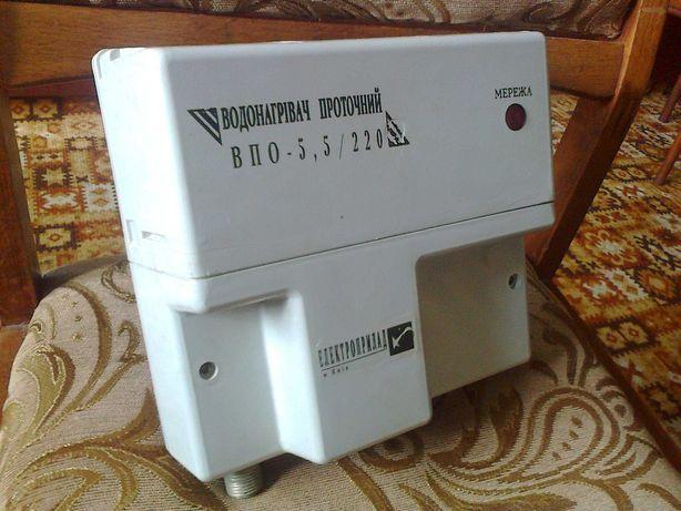 Водонагрівач проточний електричний.