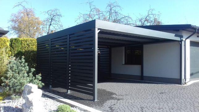 Carport wiata garażowa samochodowa zadaszenie garaż Fotowoltaika