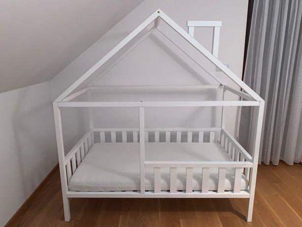 Łóżko domek skandynawski dziecięce, domek 160 x 90