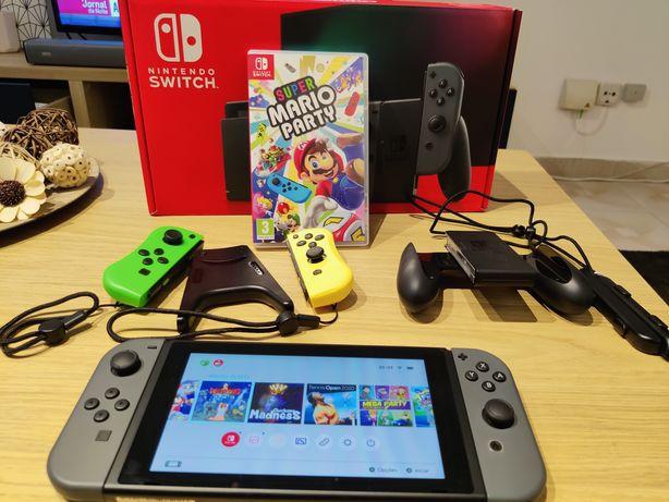 Nintendo Switch c/NOVA c/Garantia e Jogos